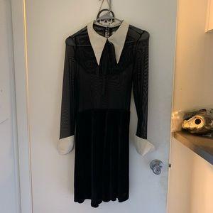 Wednesday Addams family dress
